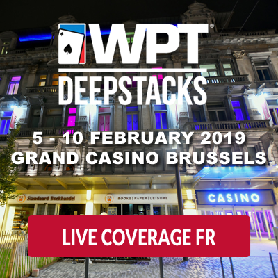 WPT DeepStacks Brussels - Live Coverage FR