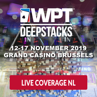 WPT DeepStacks Brussels - Live Coverage NL